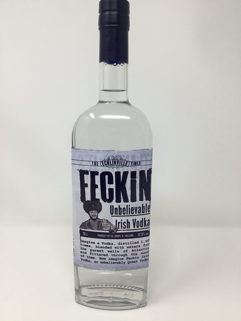 Feckin Irish Vodka product image