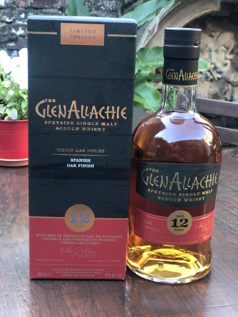 THE GLENALLACHIE 12YO SPANISH VIRGIN OAK product image