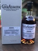 GLENALLACHIE 2008 RUBY PORT PIPE CASK #1867 product image