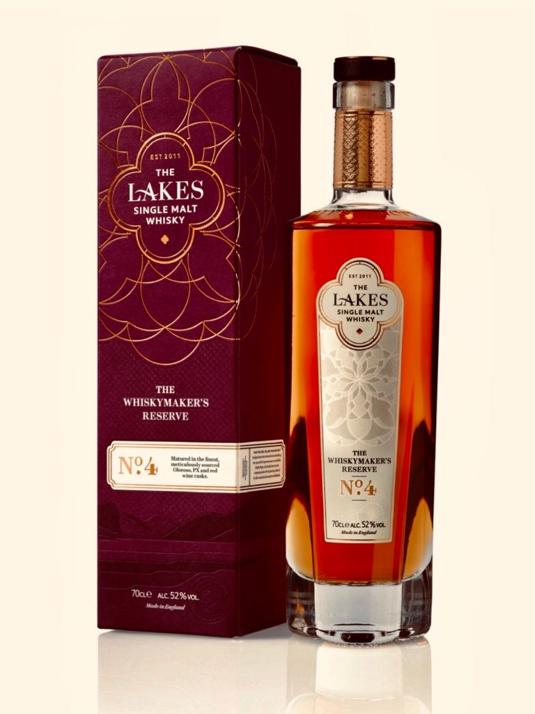 The Lakes Whiskymaker's Reserve No 4 product image